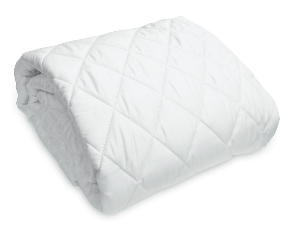 Hypoallergenic Cotton Blend Queen Size Mattress Cover With 16 Pockets Ebay