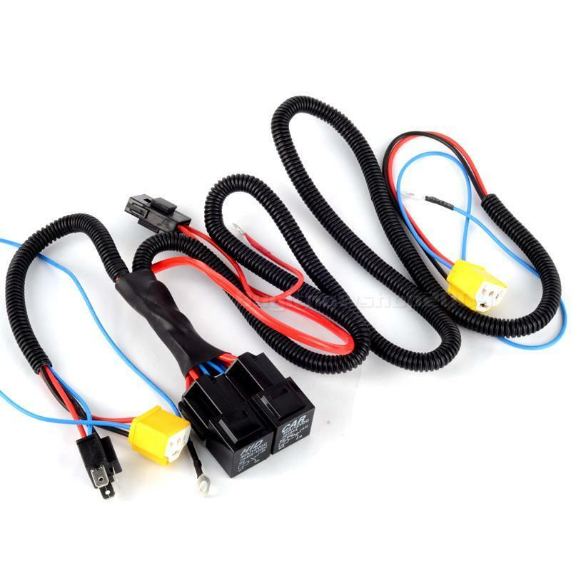 h4 h4 headlight black booster wire harness 40a dc wiring. Black Bedroom Furniture Sets. Home Design Ideas