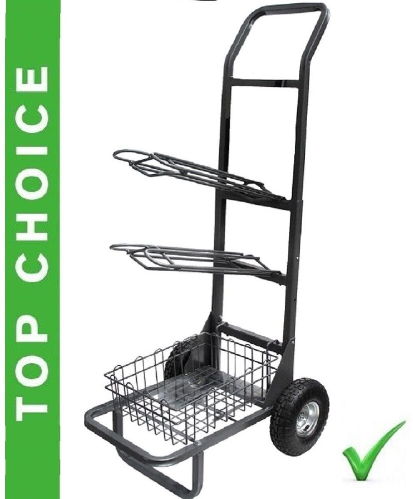 Two Wheel Dolly >> Hand Truck style 2 Wheeled Saddle Rack Cart two wheel High Country Plastics HCP | eBay
