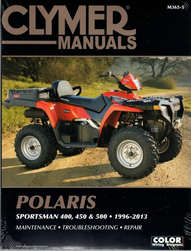 clymer service manual m365 5 polaris sportsman 500 ho 2008. Black Bedroom Furniture Sets. Home Design Ideas