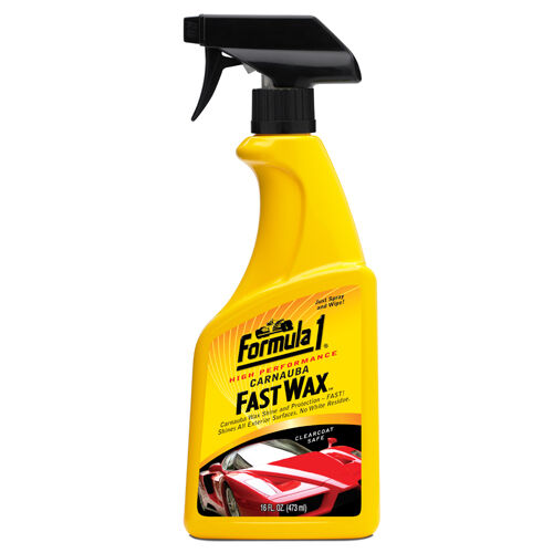 formula 1 fast wax spray on car polish carnauba shine protection 473ml ebay. Black Bedroom Furniture Sets. Home Design Ideas