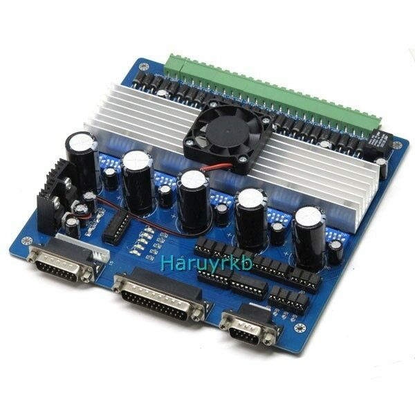 High Quality 5 Axis Cnc Stepper Motor Driver Controller Board 3 5a 208 Ebay