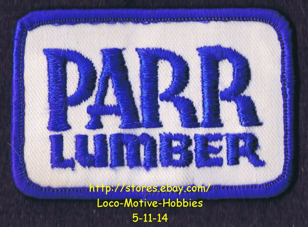 Lmh Patch Badge Parr Lumber Co Building Supply Materials