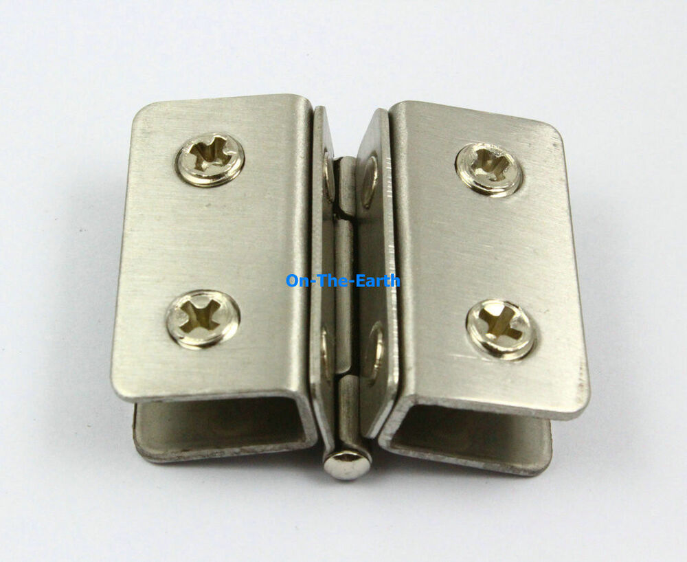 4 pcs glass to glass hinge 180 degree out swing cabinet