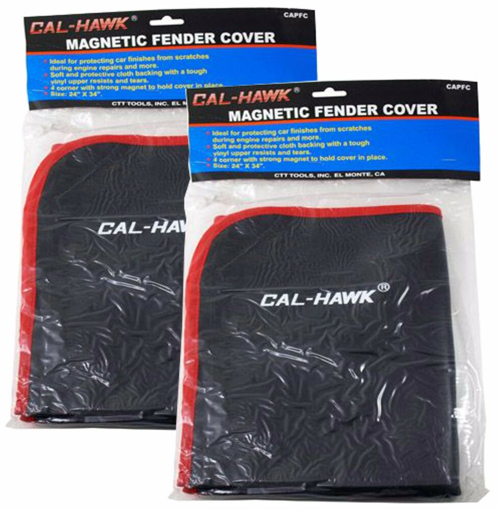 Qty 2 Heavy Duty Magnetic Fender Cover 24 Quot X 35