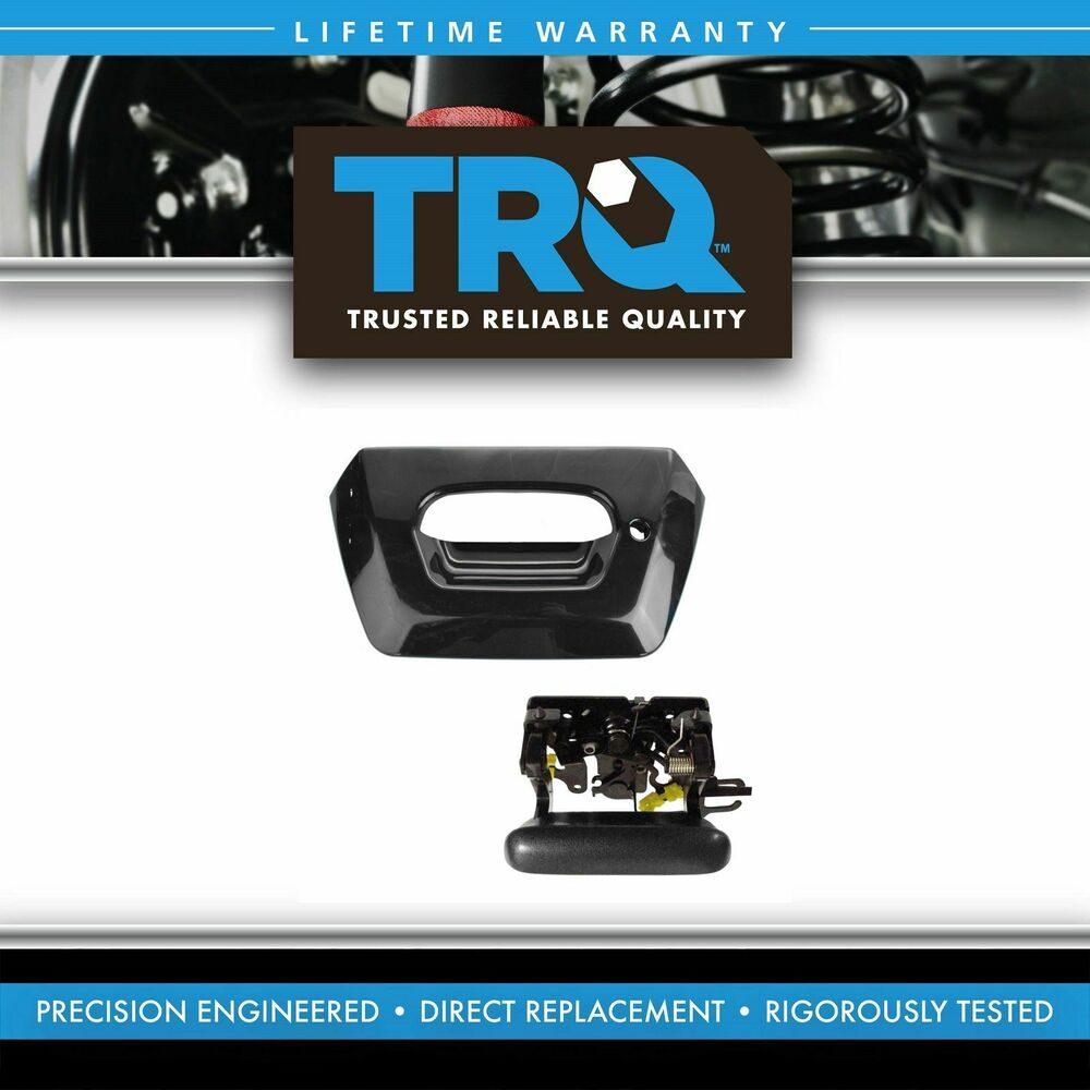 Chevy Avalanche 2016 >> Tailgate Handle and Bezel SET Black for 02-06 Chevy Avalanche | eBay