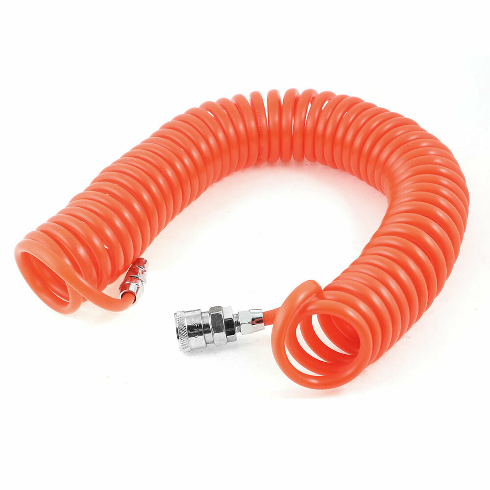 how to connect pu hose with air compressor