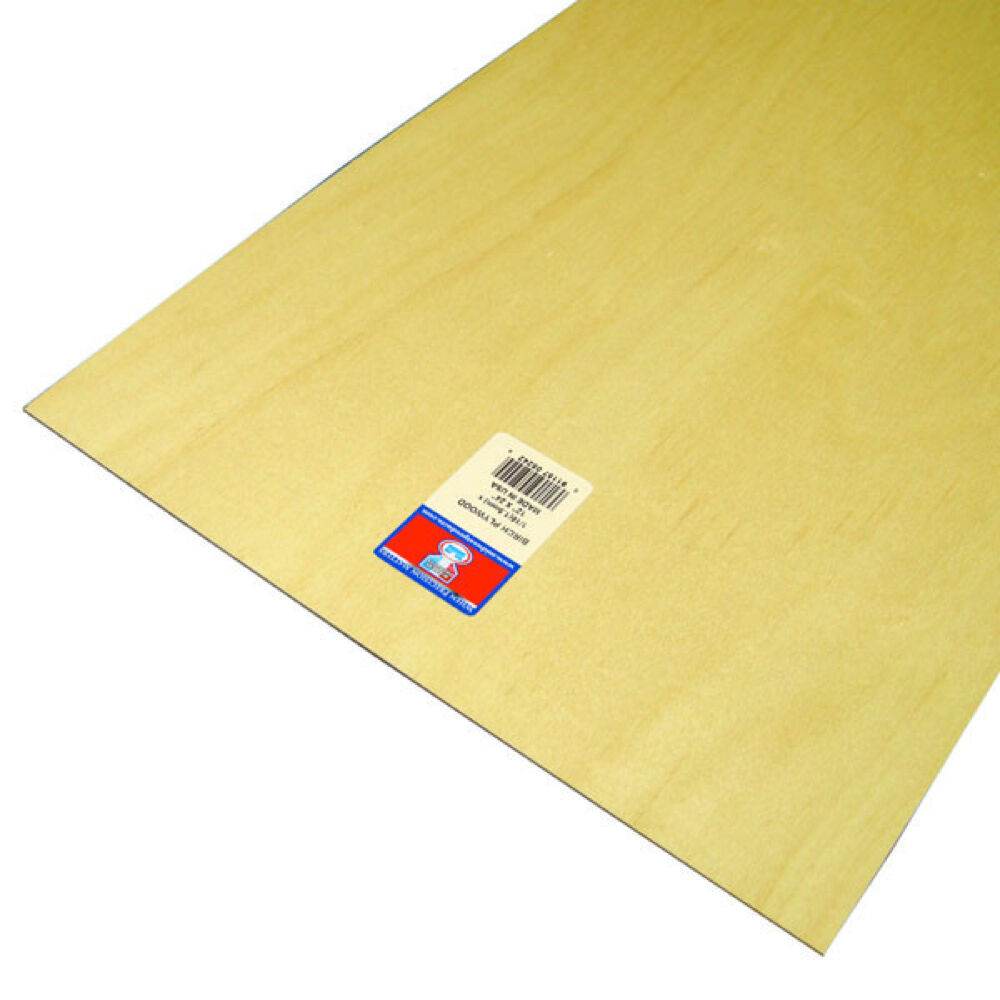 Thin Plywood Sheets ~ Would anyone know where to find ultra thin plywood laser