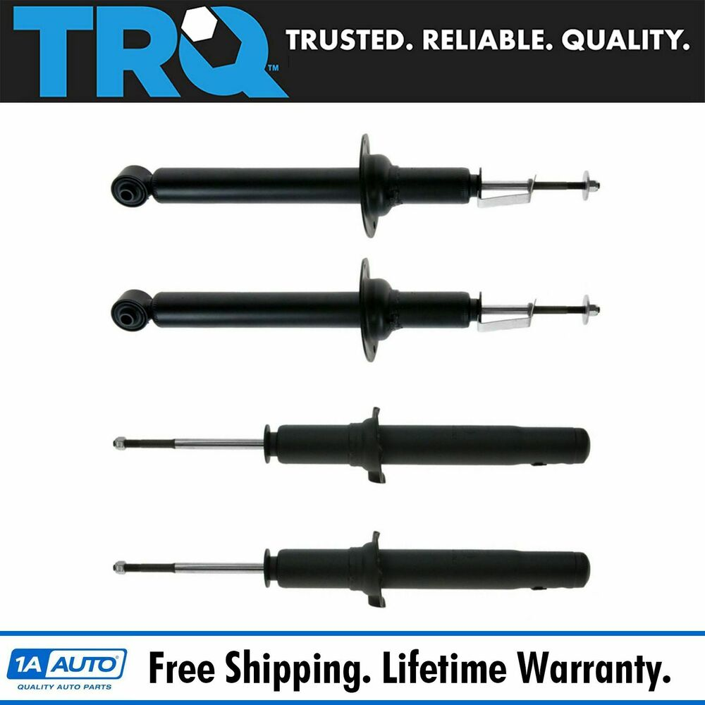 Front & Rear Shock Absorber Strut Kit Set Of 4 For Acura