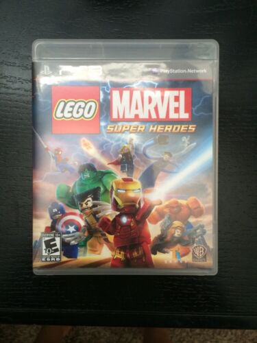 LEGO Marvel: Super Heroes  (Sony Playstation 3, 2013)