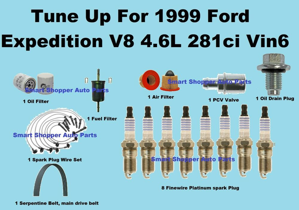 1999 chevy s10 spark plug wiring diagram tune up kit for 1999 ford expedition vin6 spark plug wire ... #5