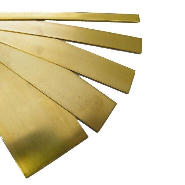 Brass Strip For Model Making Each Brass Sheet Is 12