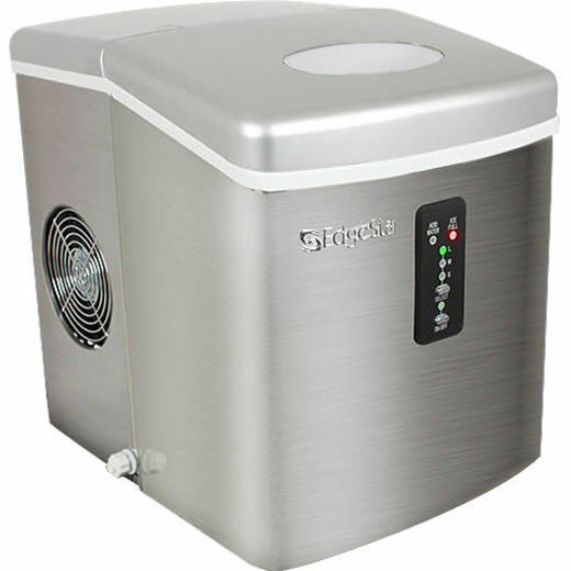 ... Steel Portable Ice Maker, Mini Countertop Ice Cube Machine eBay