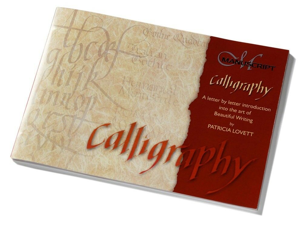 Manuscript Calligraphy Manual Step By Step Instruction