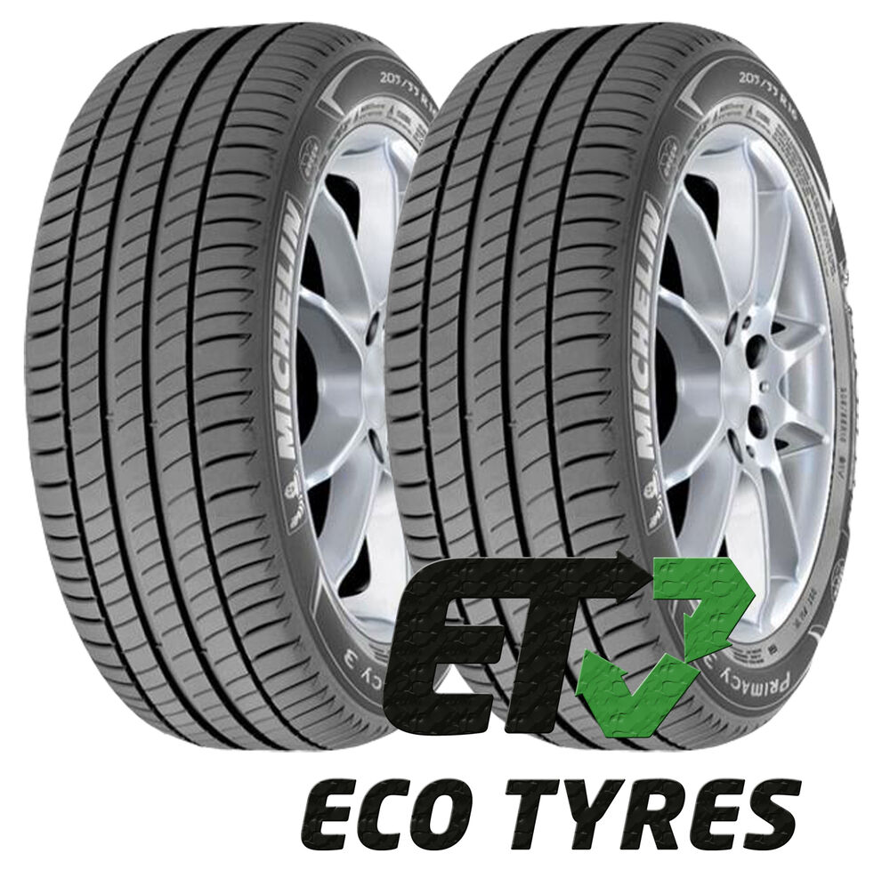 2x tyres 205 55 r17 91w michelin primacy 3 grnx b a 69db ebay. Black Bedroom Furniture Sets. Home Design Ideas