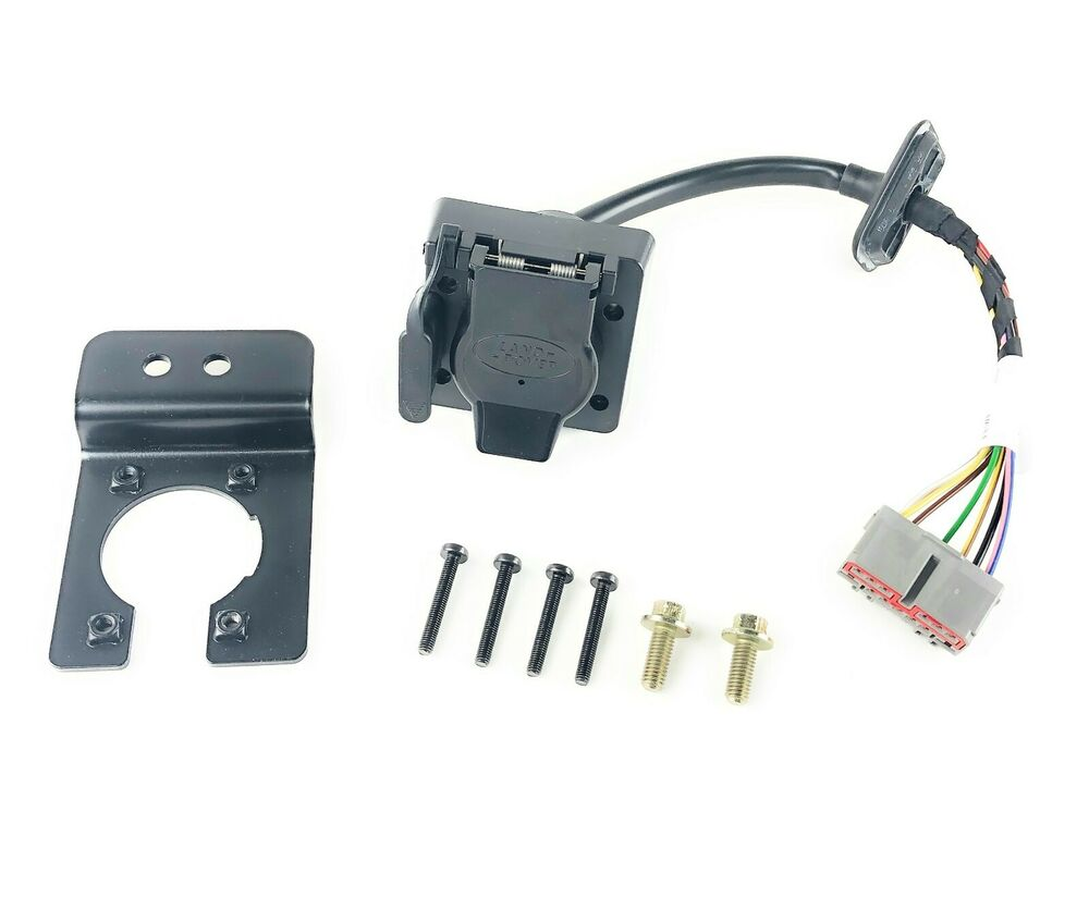 Range rover towing tow trailer electrics wiring