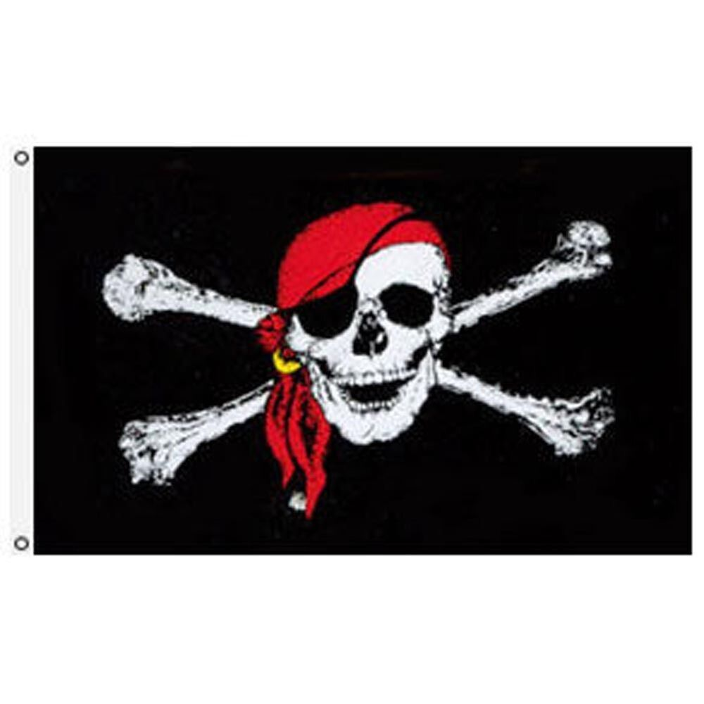 Pirate Flag 4x6 Foot Jolly Roger R...