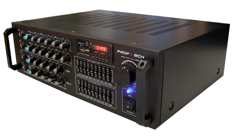 how to connect power amp to mixer