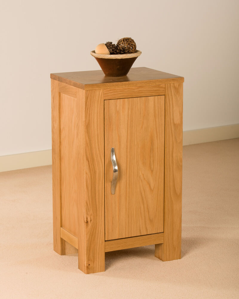 small cabinets with doors solid oak one door small cupboard cabinet ebay 26322