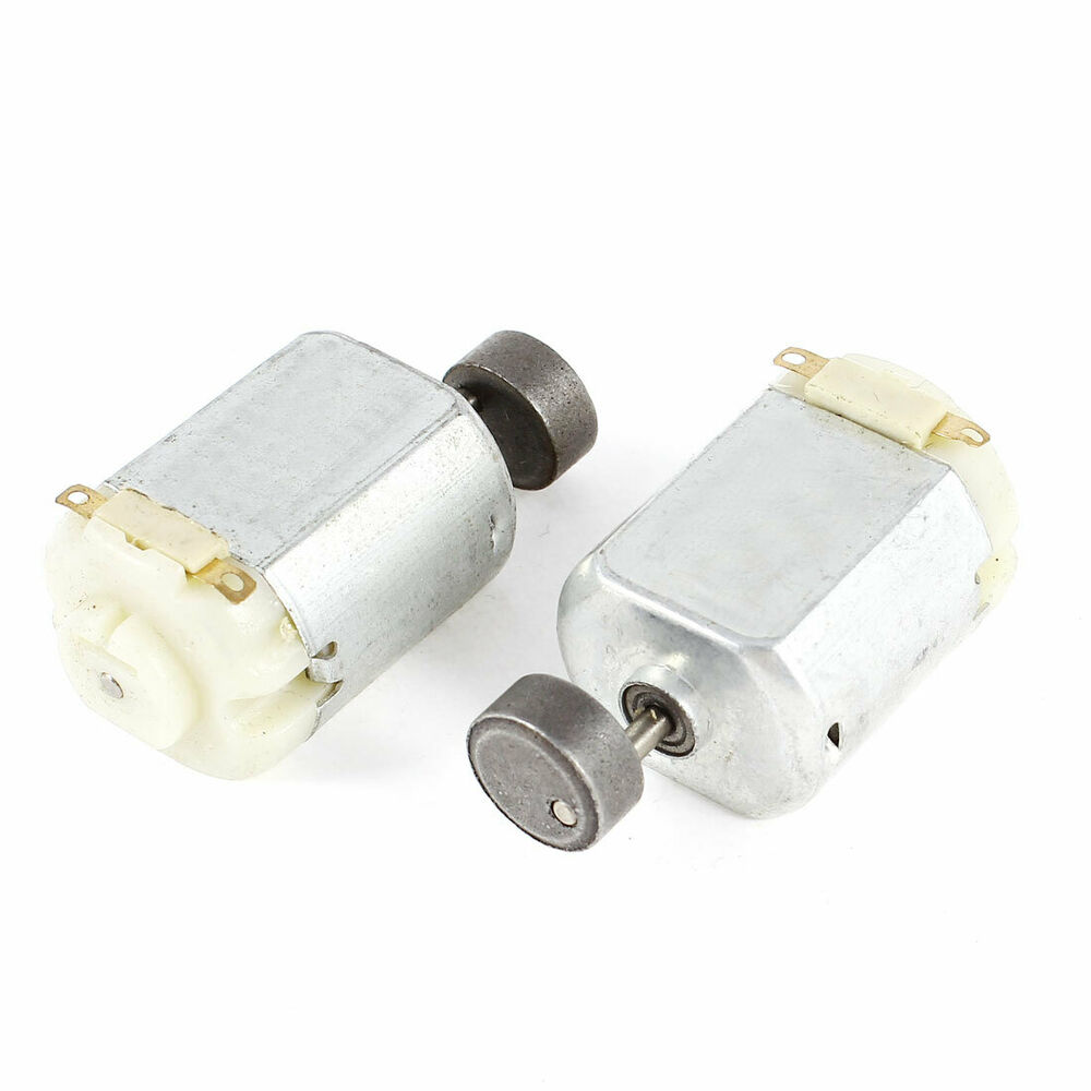 2 Pcs Mini Vibration Electric Motor Dc 3v 5200rpm For Toys