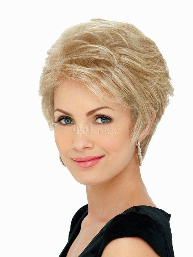 Short Blonde Wig New Fashion Women S Natural Hair Wigs