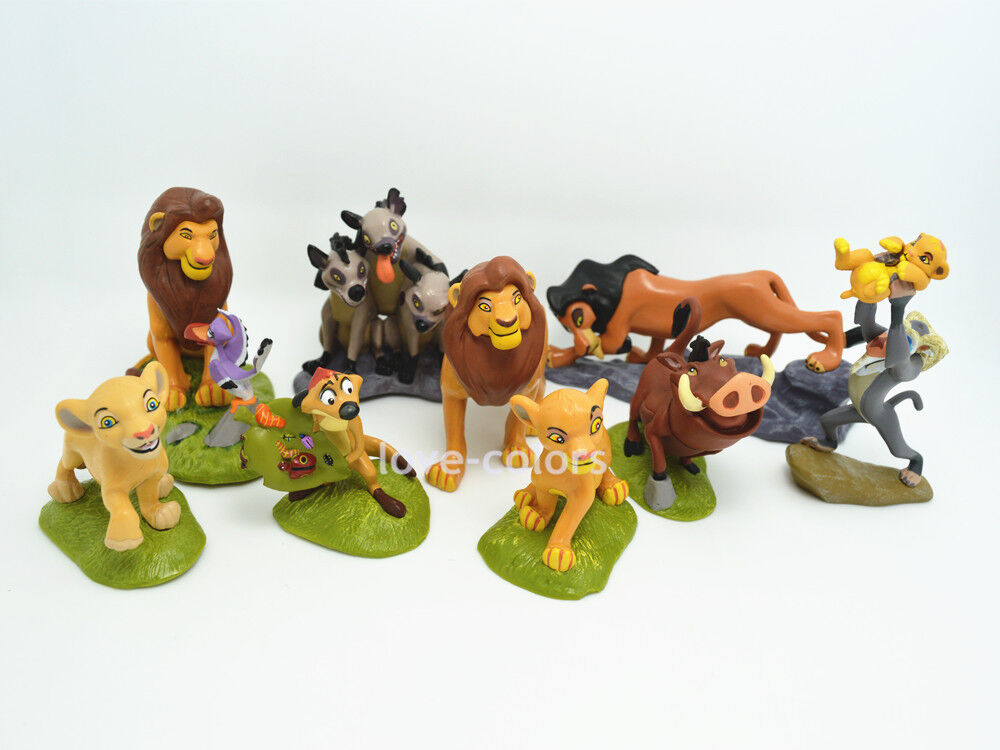Toys For Disney : Pcs disney the lion king action figures toy set cake