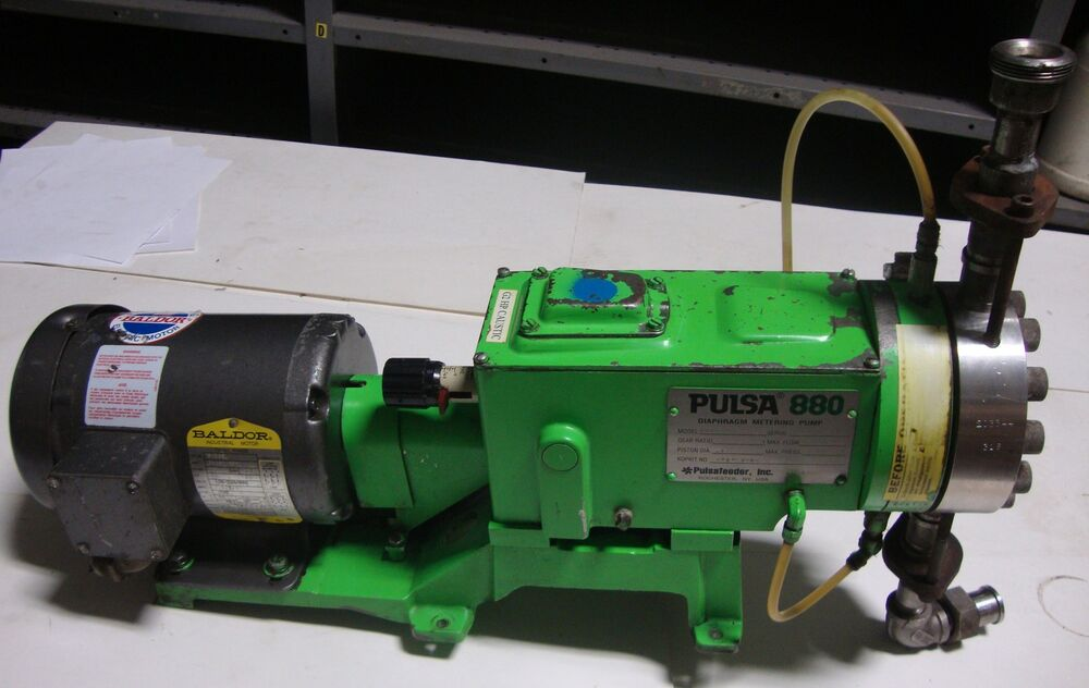 Electric Motor Diaphragm Pulsa 880 Pump Cat M3538 3