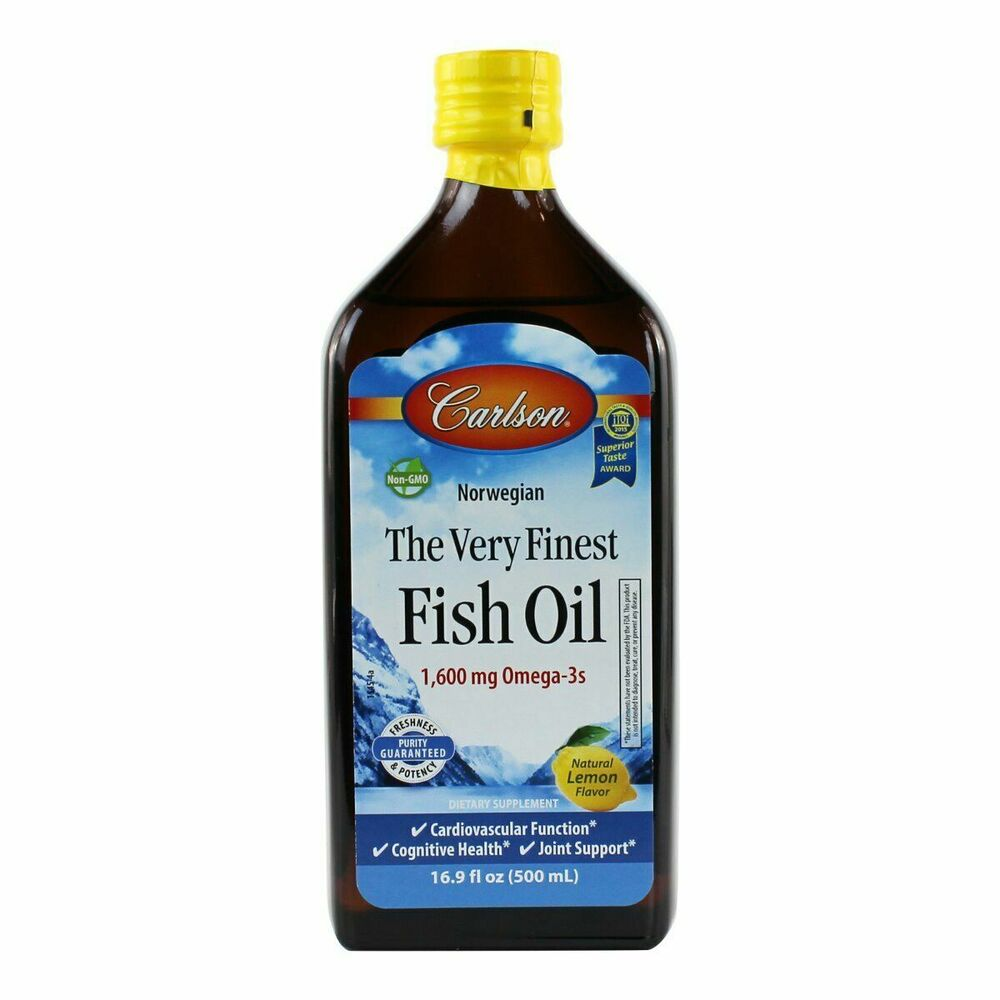 Carlson very finest liquid omega 3 norwegian fish oil epa for How does fish oil help