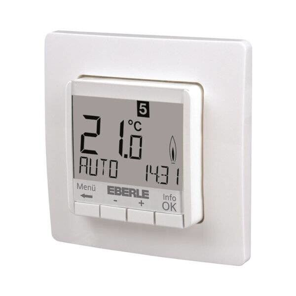 eberle raumtemperaturregler fit 3r unterputz raumthermostat f r fu bodenheizung ebay. Black Bedroom Furniture Sets. Home Design Ideas
