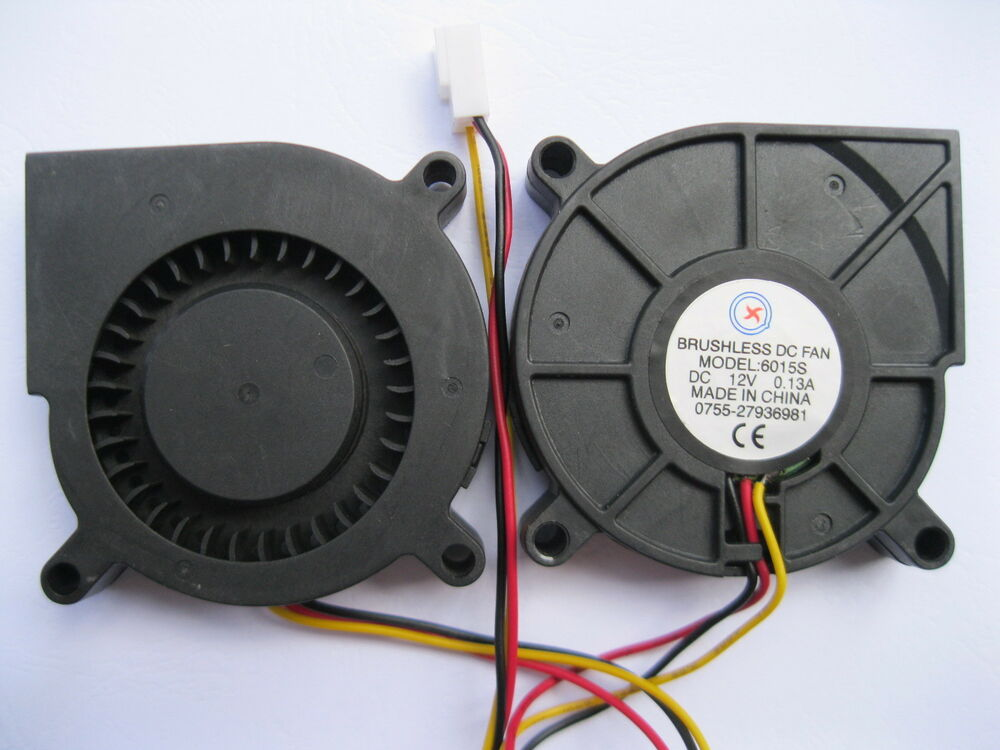Dc Blower Fan : Pcs brushless dc cooling blower fan s v mm