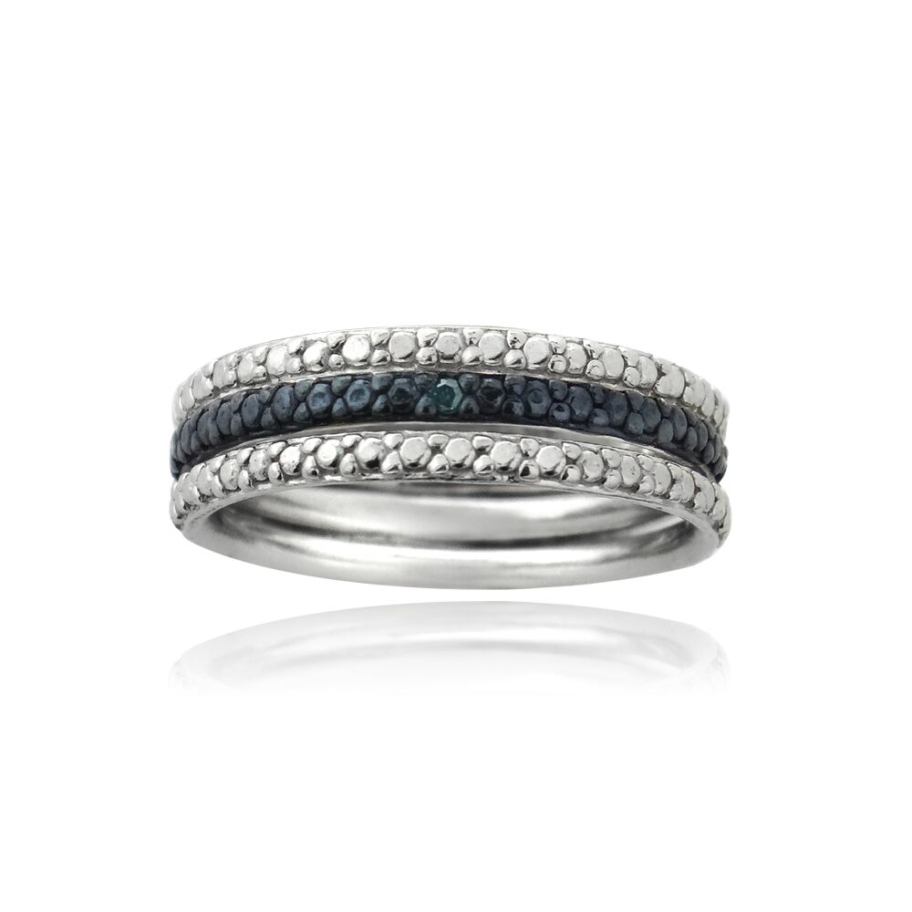 Stackable Eternity Rings
