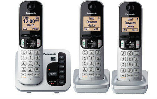 panasonic kx-tg433sk dect 6.0 phone 3-handset reviews on