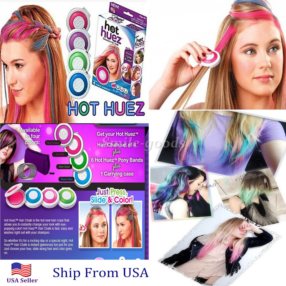hot huez hair chalk instructions
