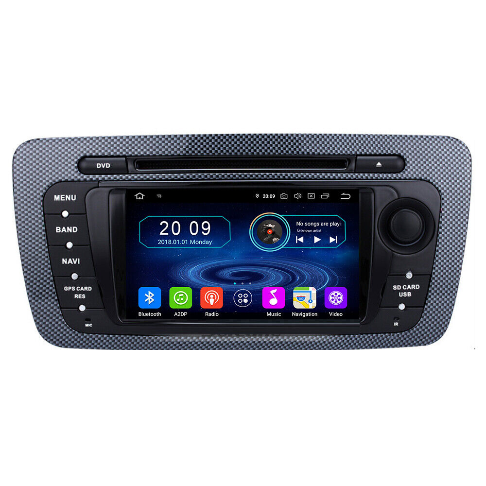 seat ibiza autoradio android touchscreen gps navigation. Black Bedroom Furniture Sets. Home Design Ideas