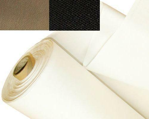 Blackout Thermal Curtain Lining Fabric Material 3 Pass 4 Colours Now Available Ebay