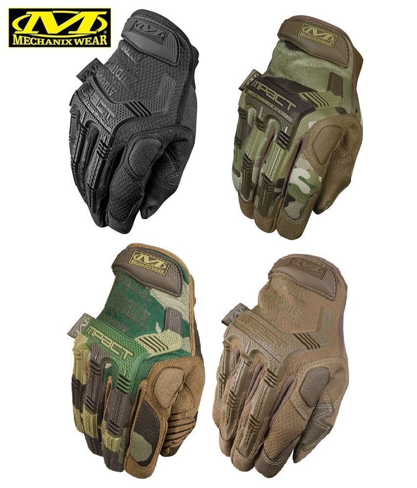 Leather work gloves m pact 2 - Mechanix Wear M Pact Work Duty Utility Gloves Multicam Coyote Black Woodland Ebay