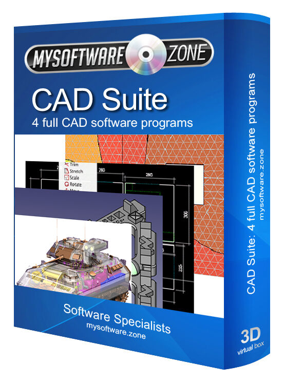 Pro cad software product 4 programs for pc 2d 3d for Software cad 3d
