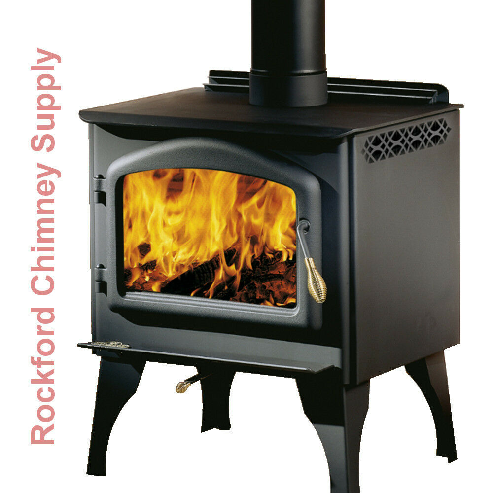 Napoleon Wood Burning Stove 1400pl With Black Arch Cast