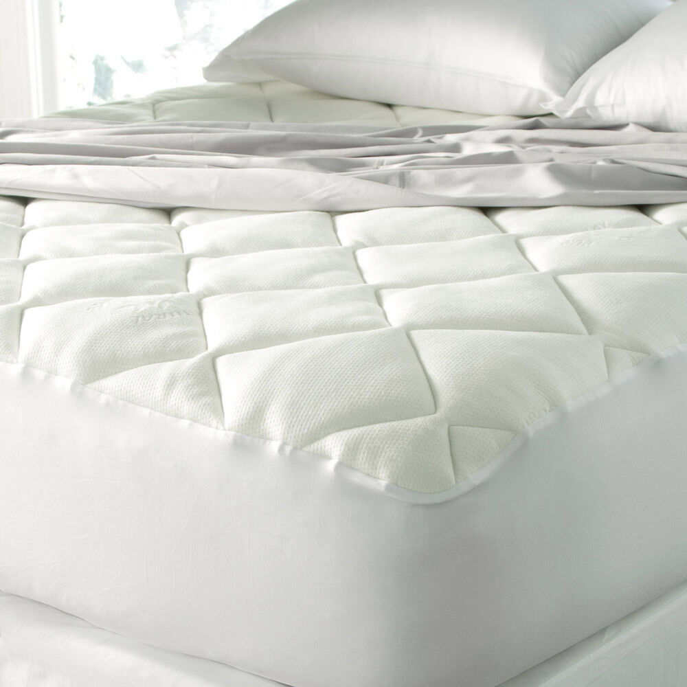 Downlite Spa Luxe Cool Touch Bamboo Top Mattress Pad | eBay