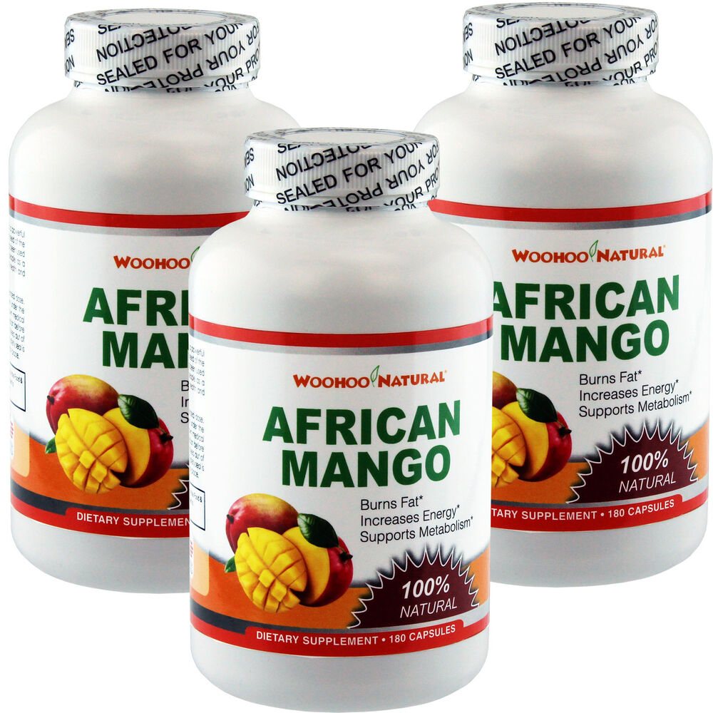 3 x 100 natural african mango 1200 extract weight loss. Black Bedroom Furniture Sets. Home Design Ideas