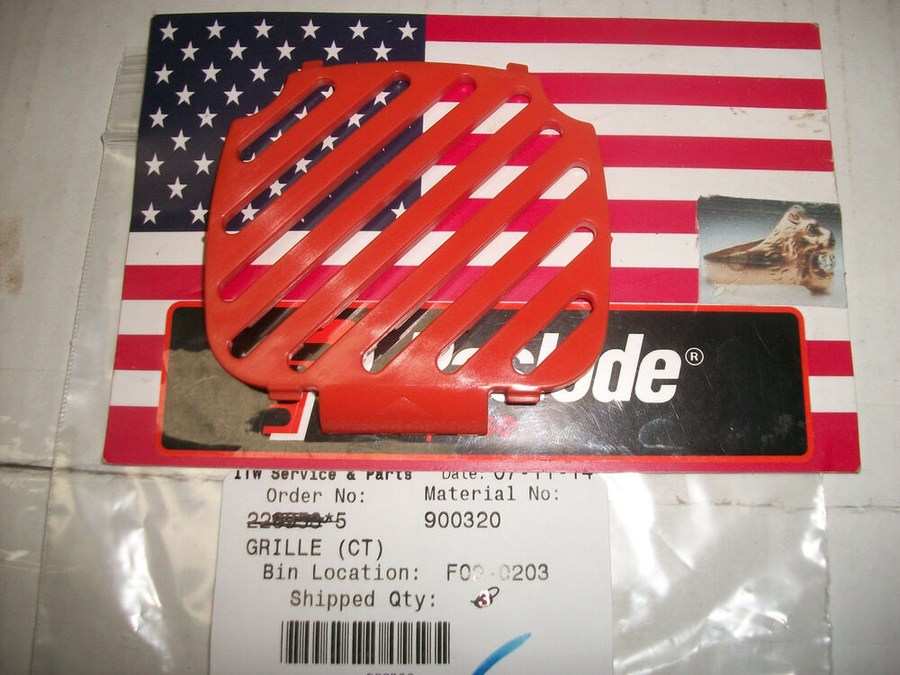 Quot New Quot Paslode Part 900320 Grill Fits 900420 Nailers Ebay