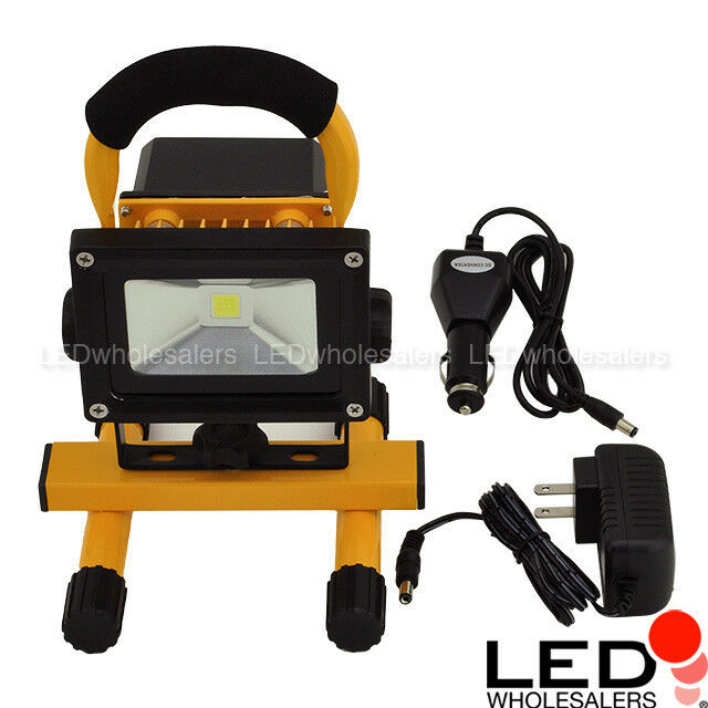 26 Led Rechargeable Cordless Worklight Garage Inspection: 12-Watt Rechargeable Portable LED Work Light For Workshop