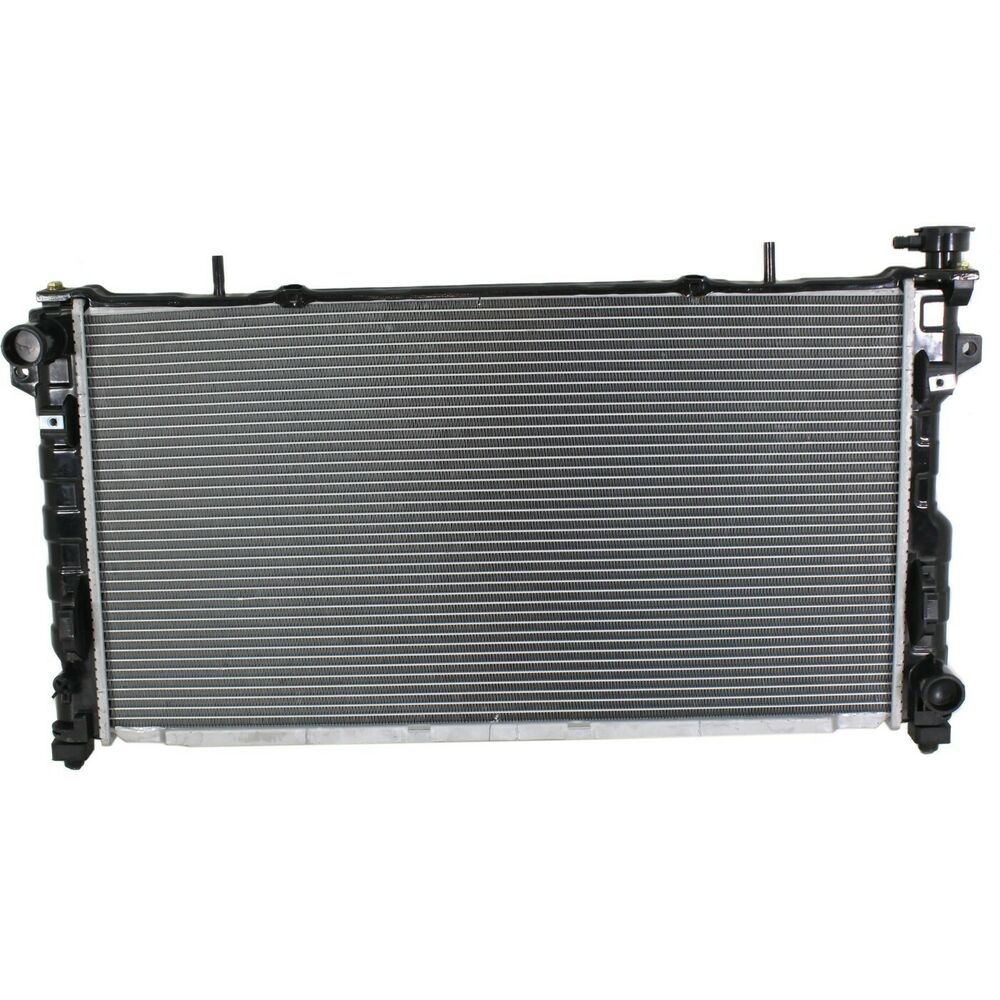 radiator for 2005 07 chrysler town country dodge grand caravan 1 row ebay. Black Bedroom Furniture Sets. Home Design Ideas