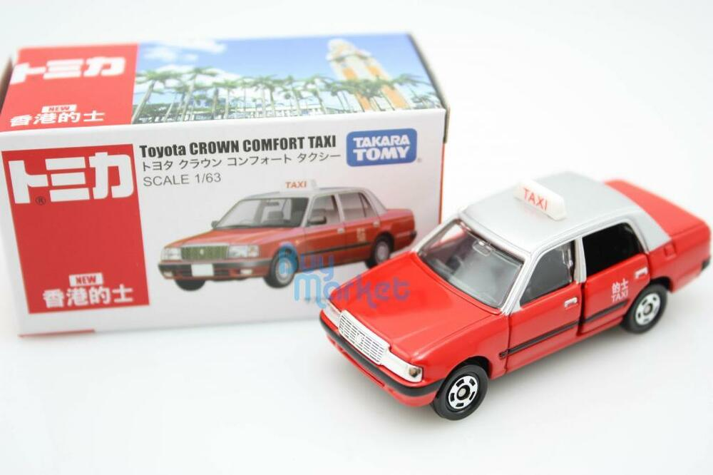 Takara Tomica Tomy Toyota Crown Comfort Hk Kw Taxi 1 63
