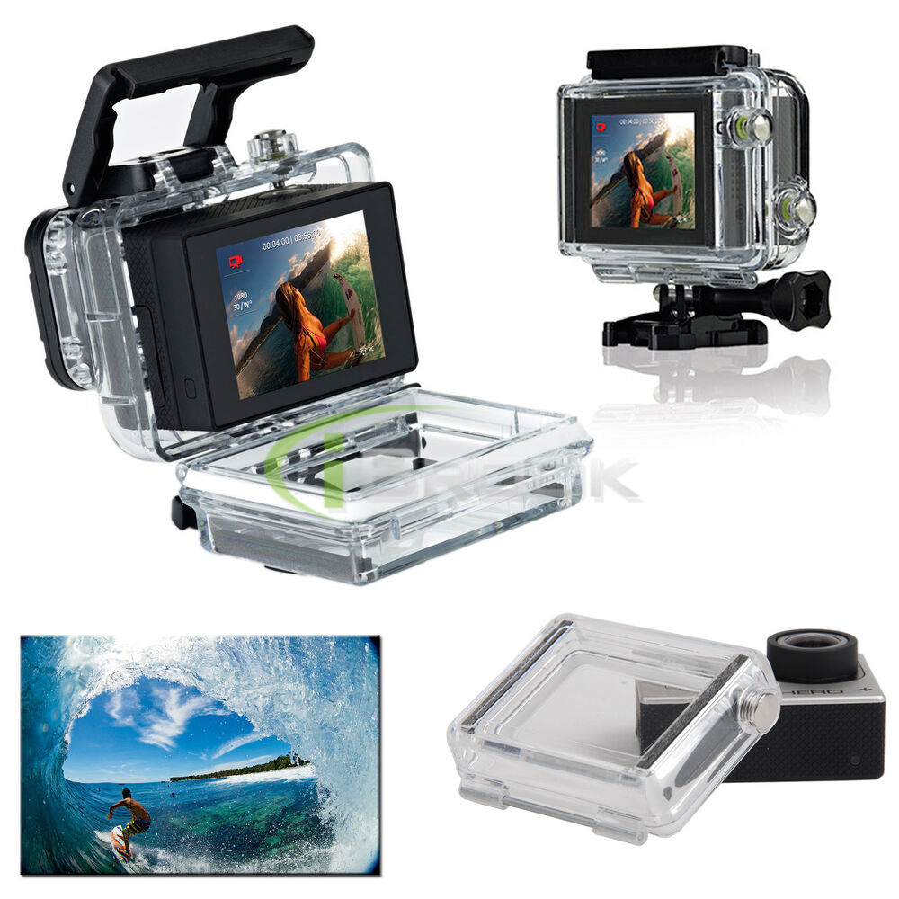 Gopro Accessories Waterproof Back Door For Gopro Hero3 2