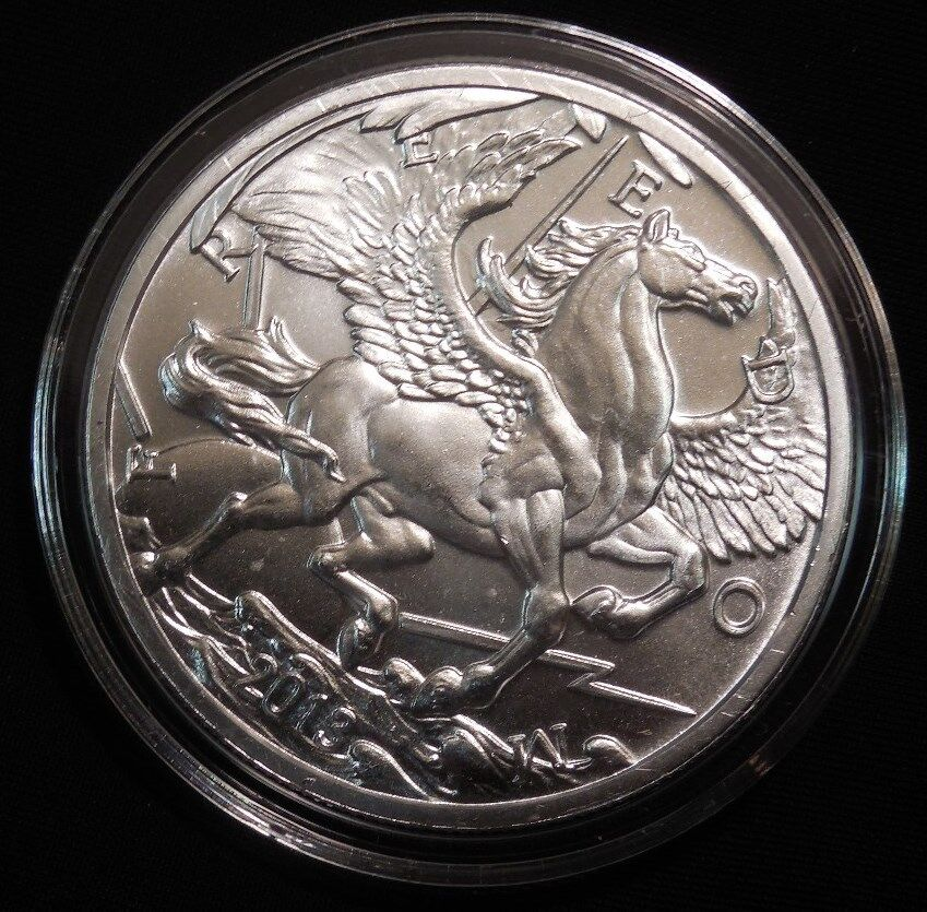 2013 Pegasus Mythological 1 Oz 999 Silver Round Ebay