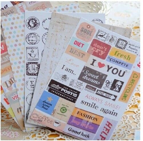 1x Cute Note Book Memo Pad Diary Shopping List Schedule Book Pocket Size Y