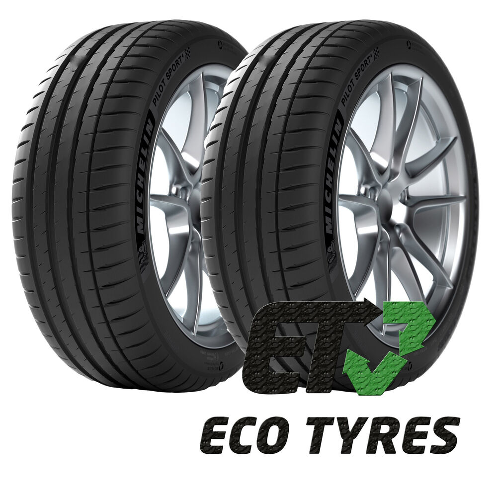 2x tyres 225 40 zr18 92y xl michelin pilot sport4 c a 71db ebay. Black Bedroom Furniture Sets. Home Design Ideas