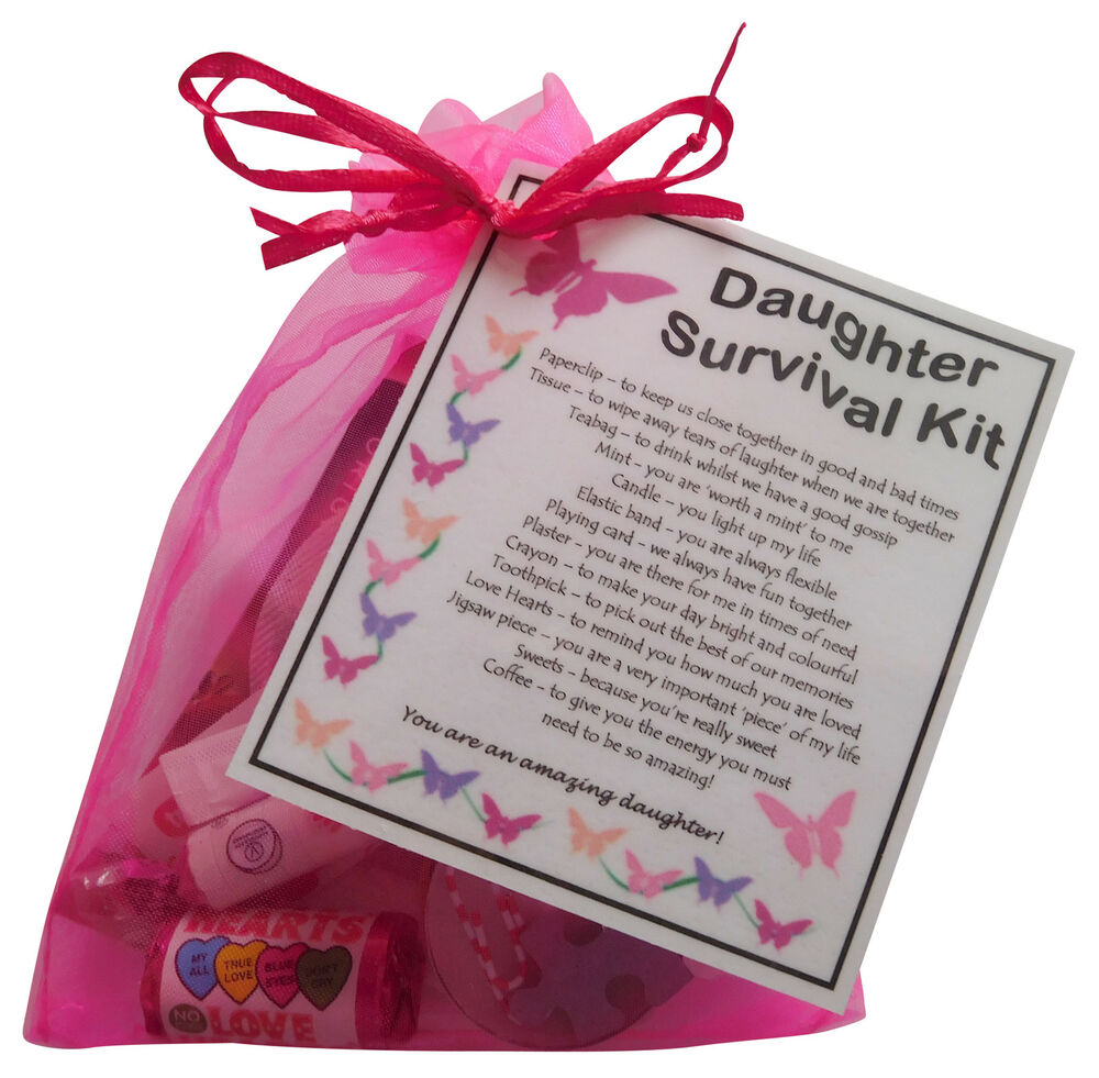 18th Birthday Survival Kit Birthday Gift Novelty Present: Unique Keepsake For Your Daughter
