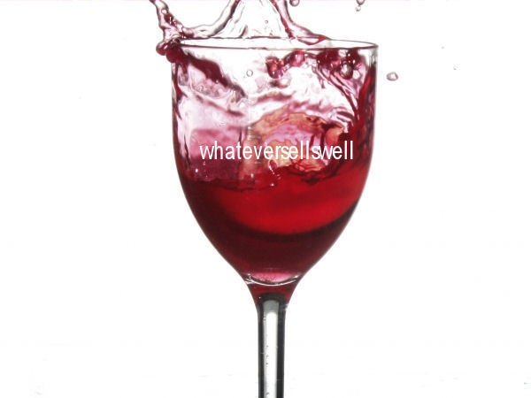 Unbreakable plastic drinking glasses wine 300ml dishwasher for How strong is acrylic glass